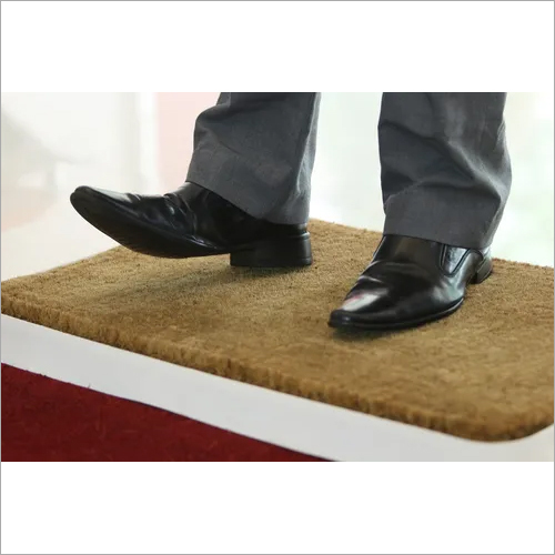 SANI COIR MAT DOUBLE TRAYBC20-38 X 45 CM AND 0.5 LTRDISINFECTANT +38 X 45 CMPVC