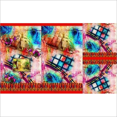 Ethnic Wear Digital Print Kurti Fabric