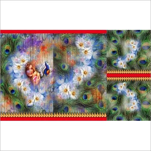 Party Wear Digital Print Kurti Fabric