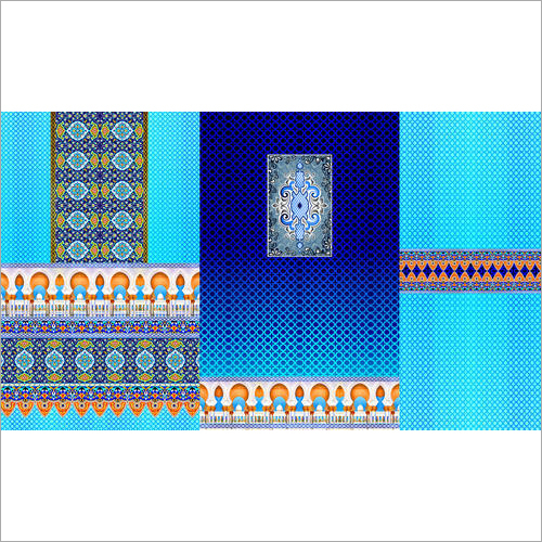 Designer Digital Printed Kurti Fabric