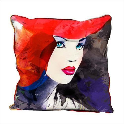 Decorative Digital Print Cushion Cover