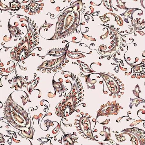 Digital Print Chanderi Fabric