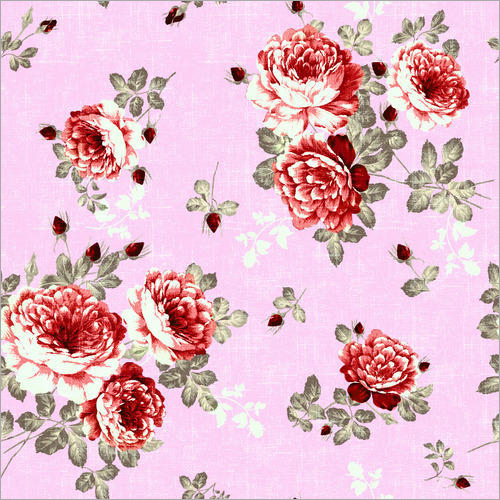 Digital Print Bhagalpuri Fabric