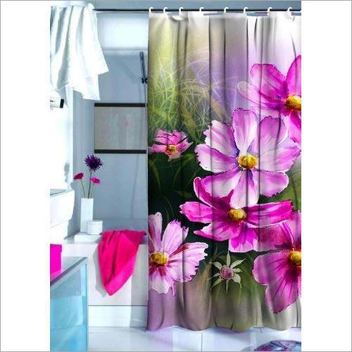 Floral Digital Print Curtain