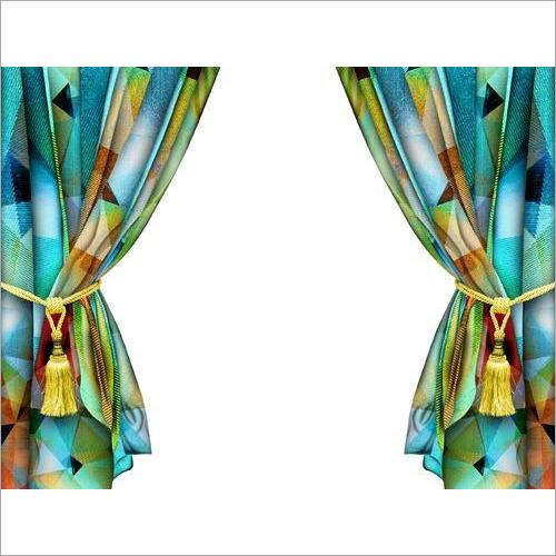 Modern Digital Print Curtain