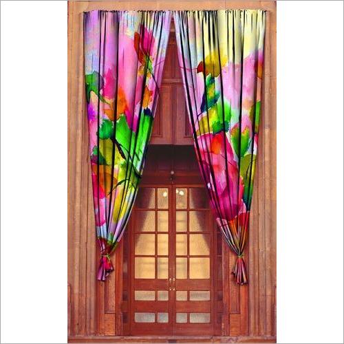 Home Furnishing Digital Print Curtain