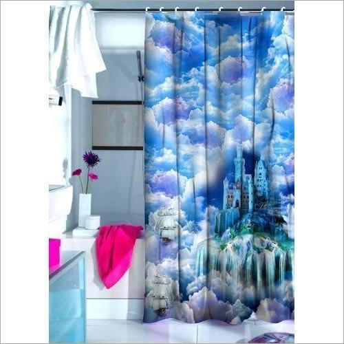 Stylish Digital Print Curtain