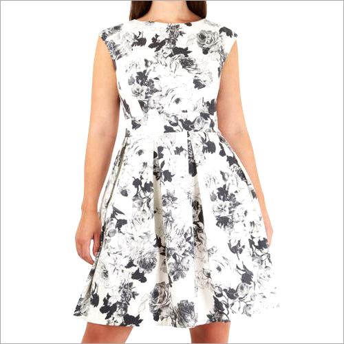 Georgette Floral Digital Print Dress