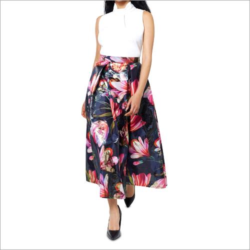 Digital Print Designer Skirt