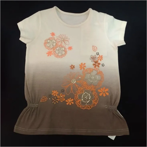 Baby Girl Cotton T-Shirt