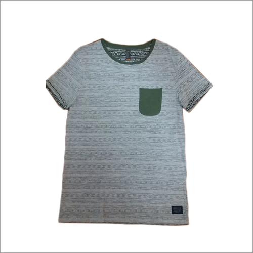 Boys Round Neck T Shirt