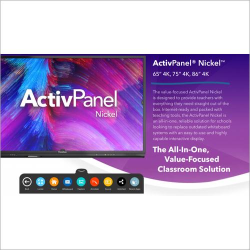 65 inch Promethean Interactive Panel