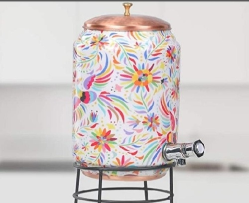 Printed Copper Water Dispenser