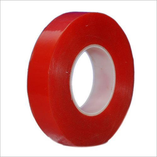 Double Sided Red Polyester Tapes