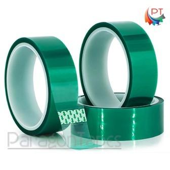 Powder Coating Masking Tape- Green Polyester Tape