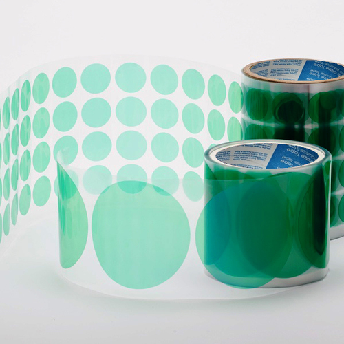 Green Poly Die Cut Masking Tape