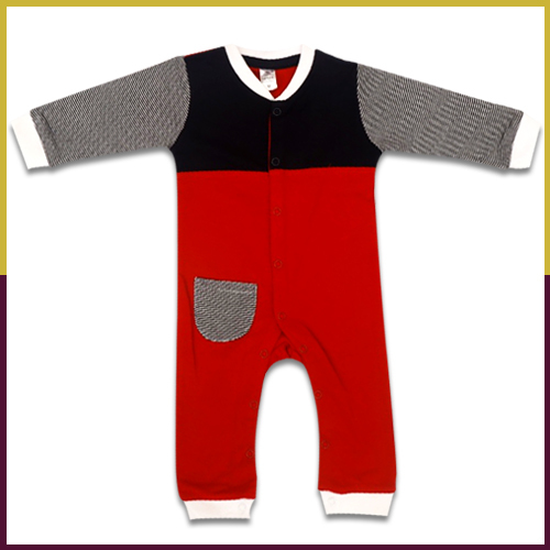 Baby Boy Hooded Suit