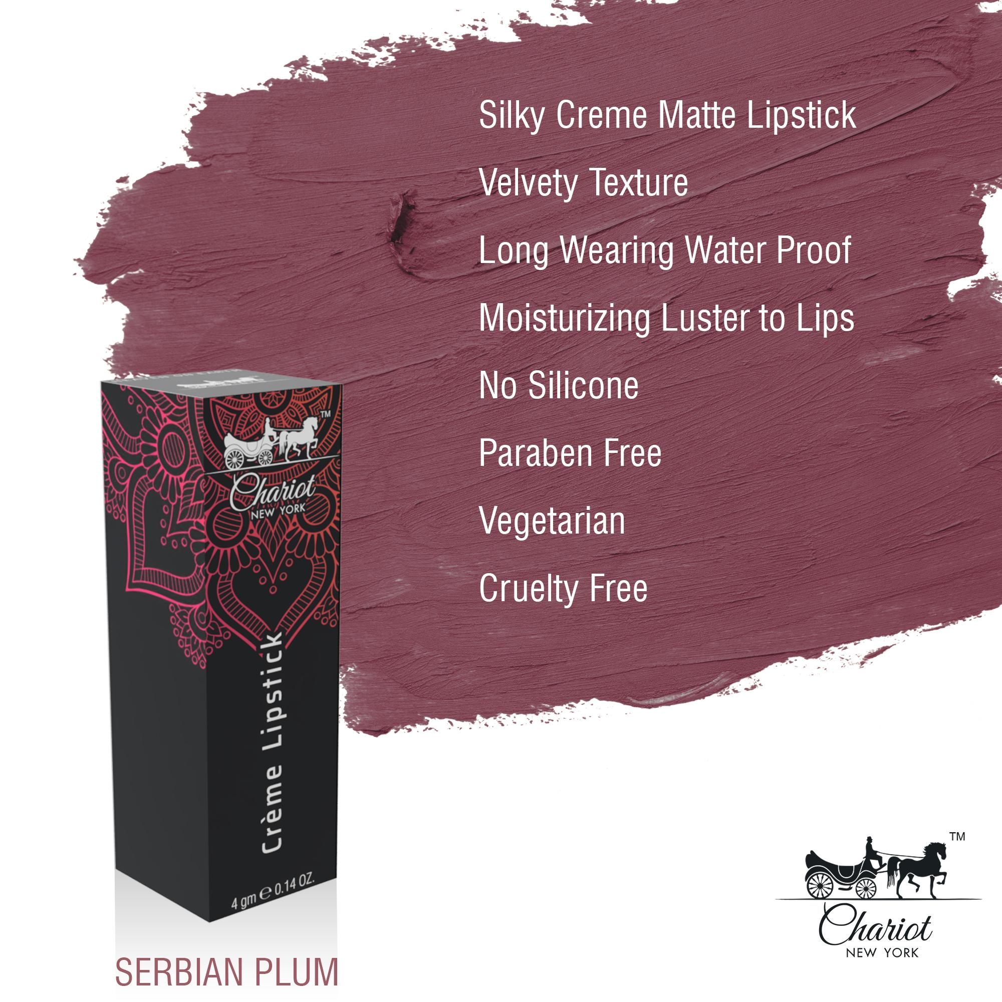 Chariot New York Serbian Plum Lipstick (Plum)