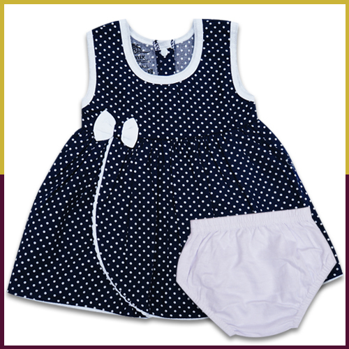 Baby Round Neck Frock