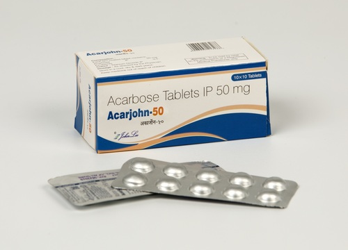 Acarbose Ip 50 Mg
