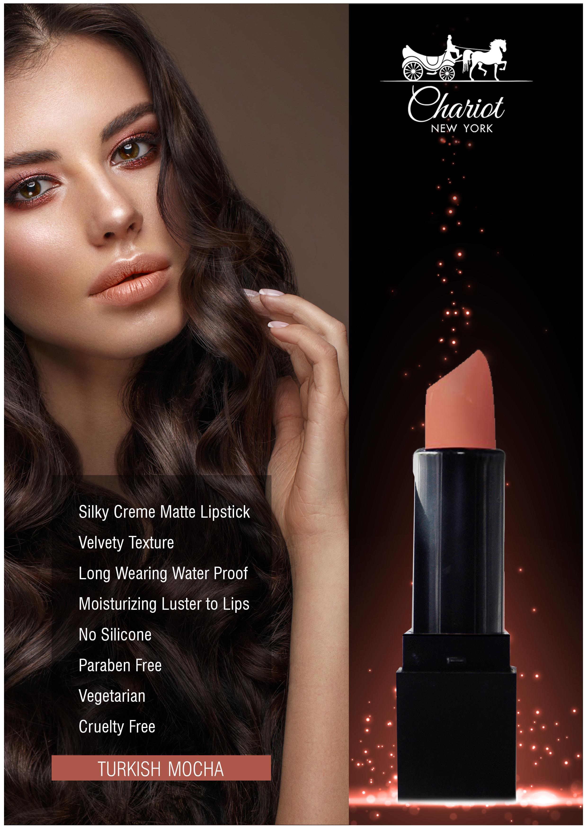 Chariot New York Turkish Mocha Lipstick (Chocolate)