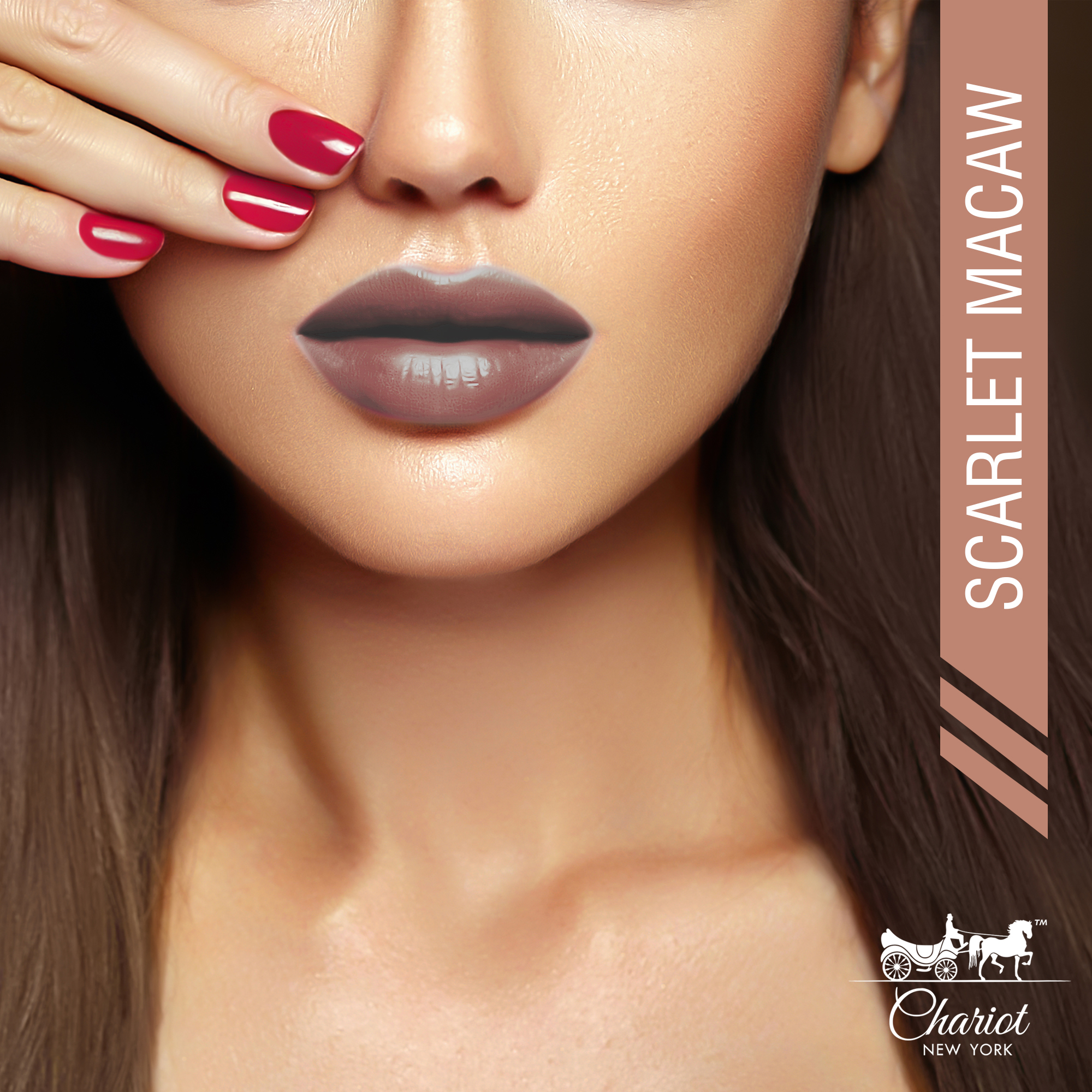 Chariot New York Scarlet Macaw Lipstick (Nude)