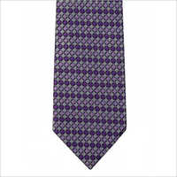 Purple Printed Tie
