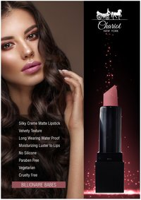 Chariot New York Billionaire Babes Lipstick (Rose Pink)