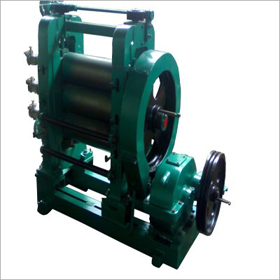 3 Roll Calender Machine V-Belt Drive