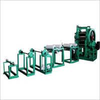 4 Roll Calender Machine With Conveyor
