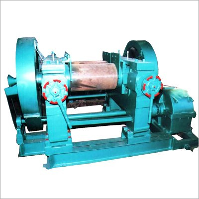Rubber Grinder Machine Double Drive