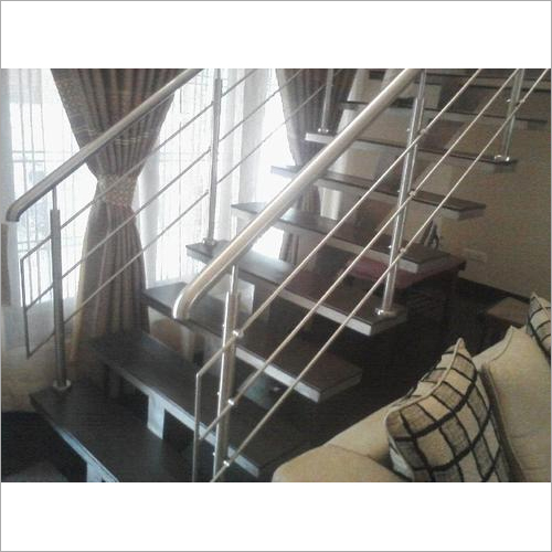 Indoor Stainless Steel Stair Railing