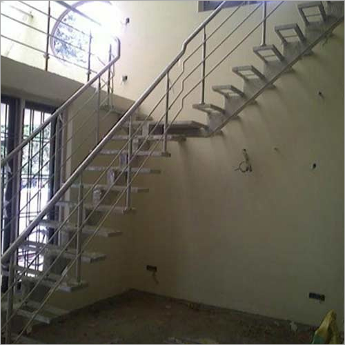 Stainless Steel Balcony Pipe Railing