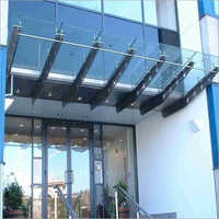Stainless Steel Toughened Glass Canopy
