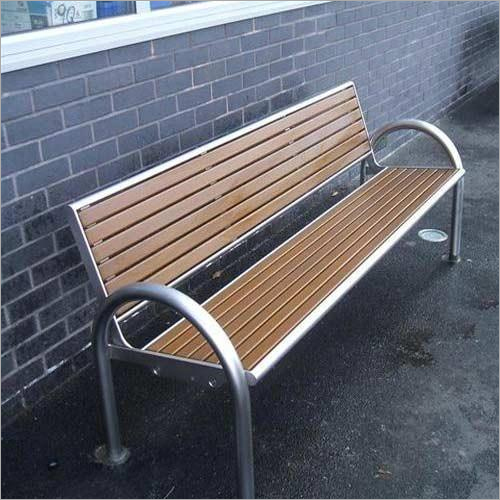 Outdoor Stainless Steel Bench