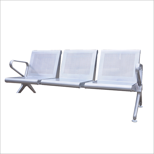 Steel Three Seater Visitor Chair