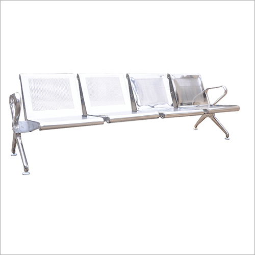 Steel Four Seater Visitor Chair