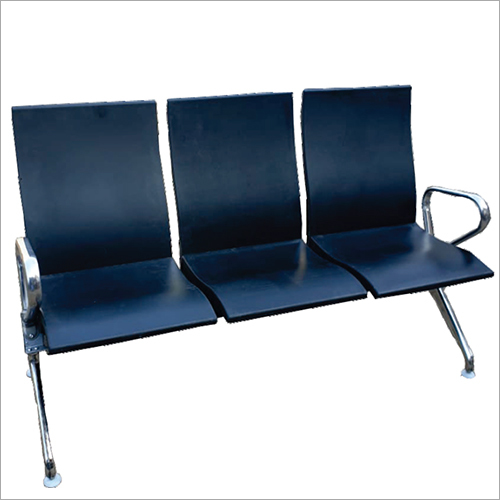 SS Three Seater Hospital Visitor Chair