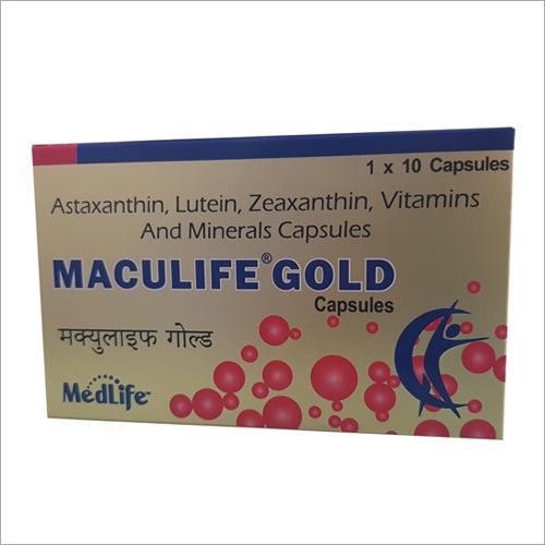 Astaxanthin Lutein Zeaxanthin Vitamins And Minerals Capsules