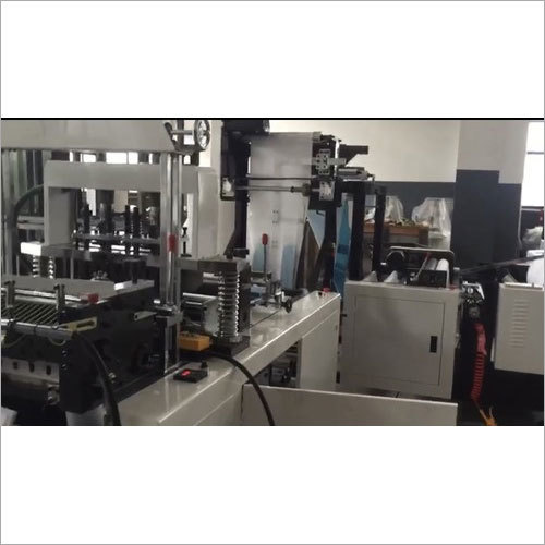 Automatic Non Woven WU Bag Making Machine