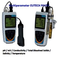 Eutech Portable Multiparameter With Ph /Con/ATC Electrodes PC450