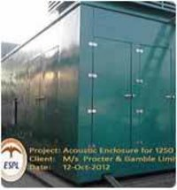 Acoustic Enclosure For Power Plant