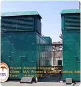Acoustic Enclosure For Power Plant