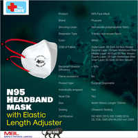 N95 Headband Mask With Elastic Adjuster