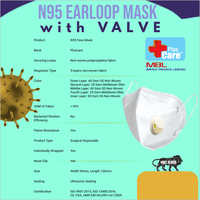 N95 Earloop Mask with Valve