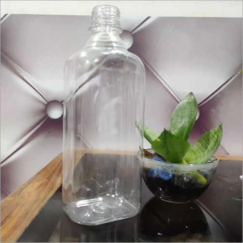 Transparent Hand Sanitizer Storage Pet Bottle