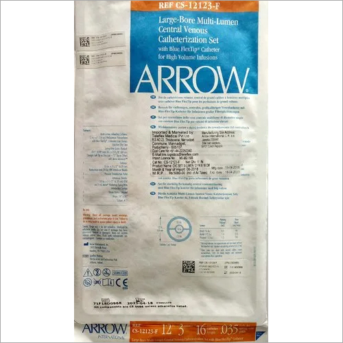 Multi Lumen Dialysis Catheter Cs12123 F Arrow