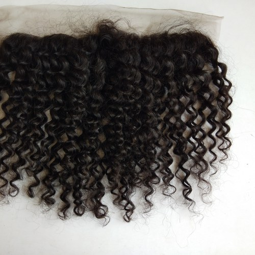 Steam Curly Frontal 13x4