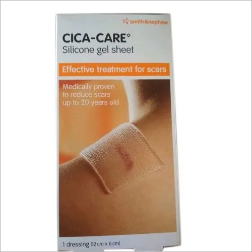 Caca Care Silicone Gel Sheet Smith And Nephew