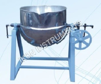 Cooking Kettle Fixed Type With Tuflon Scrapper